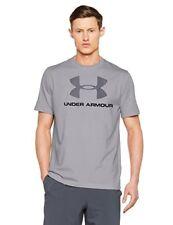 T-shirt Under Armour Sportstyle Logo Gris Noir pour Homme L