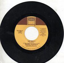 SMOKEY ROBINSON disco 45 giri USA Ever had a dream + Get ready 1979 TAMLA 54301