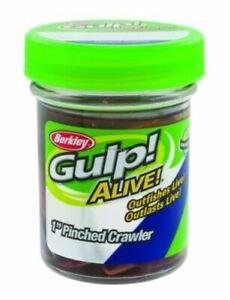 "Berkley Gulp Alive! Pinched Crawler, 1"", 1.7 oz. Jar, 1589"