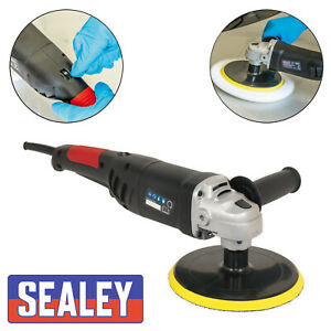 Sealey ER1700P 240v Variable Speed Polisher Buffer Lightweight 180mm 1100w