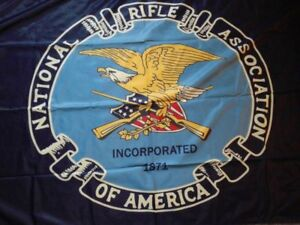 Official National Rifle Association NRA Flag 3' x 5' USA SELLER Brand New