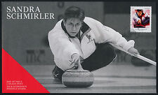 Canada 2706 on FDC - Winter Olympics, Sandra Schmirler, Curling