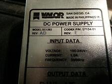 Valor DC Power Supply SC1283 Codex 57154-01 REV E REV AD