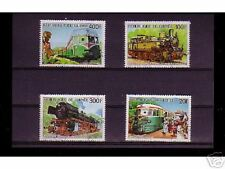 0837++GUINEE   SERIE TIMBRES TRAINS   N°5
