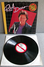 RICK DEES   HURT ME BABY   MAKE ME WRITE BAD CHECKS    1983 Lp Record Rock