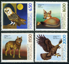 Portugal 1462-1465, MNH. Birds: Owl, Eagle. Animals: Fox, Wolf, 1980