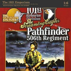 1:6 21st Century Toys Ultimate Soldier WWII US Army 101st Airborne Pathfinder