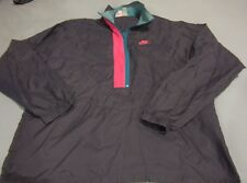 Nike Men's Vintage Swoosh Windbreaker Jacket Size Lrg 80s 90s Light pullover
