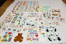 Vtg 90's Stickers Mrs. Grossmans Sandylion Scrapbooking LOT