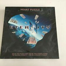 ERTL Eternity Heart Puzzle 20 Pieces 1998 Vintage 00203H-1HD Age 14+ Vintage