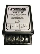 OMEGA ENGINEERING PSS-D12A DUAL POWER SUPPLY 115 / 12V BRAND NEW NO BOX
