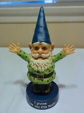 "Westland Gnomies "" Like You Gnome "" Figurine Numbered"