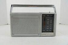 Vtg Stewart Am/Fm 2 Band Portable Radio ST-841