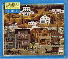 NEW SEALED Charles Wysocki HAWKRIVER HOLLOW 1000 Piece Jigsaw Puzzle
