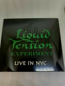 LIQUID TENSION EXPERIMENT Live in NYC 2 CD + DVD digipak  DREAM THEATER