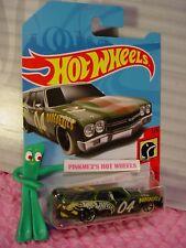 '70 CHEVELLE SS Station WAGON✰Green;04;✰DAREDEVILS✰2018 i Hot Wheels WW case M/Q