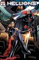 🚨🔥 HELLIONS #8 JAY ANACLETO Psylocke Sinister Exclusive Trade Dress Variant NM