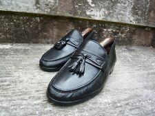 CHURCH TASSEL LOAFERS MEN'S SHOES – BLACK – UK 7.5 – FERRARA – VERY GOOD COND