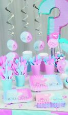 Gender Reveal party / baby shower coordinated range, tableware and decorations