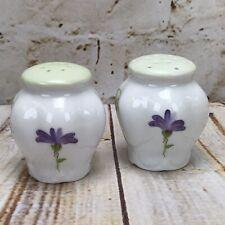 Lissi Kaplan Felissa's Garden  Kitchen Salt & Pepper Shaker Floral Flowers