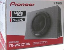 "Pioneer TS-WX1210A 1300 Watt Single 12"" Sealed Subwoofer Box w/ Built-in Amp NEW"