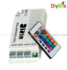 3322 RGB IR Music Controller 60 Watt 3 Ports With Remote for Color Changing LED