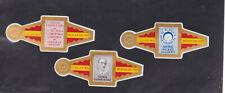 Série complète  Bague de Cigare Vitola Espagne BN11371 Mario Picazo