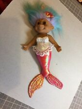 """Russ 10"""" Mermaid Troll From The 1980's"""