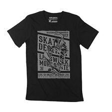 ULTRABASIC Homme T-shirt Live To Skate - Communauté de skateboard