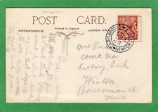 More details for carisbrooke newport undated double circle postmark 1921 pc  ref m561