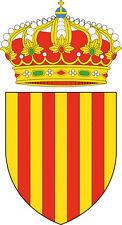 "Voiture Autocollant blason Catalogne ""Catalunya"" COAT OF ARMS Catalonia Sticker"
