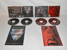 2 juegos de PC Vampiro Drácula el último santuario & Drácula Resurrección Win 95/98