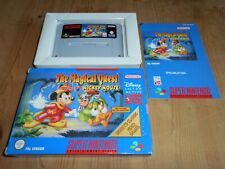 The Magical Quest Mickey Mouse sgZ/VGC/TBE OVP/CIB NOE SNES Super Nintendo