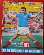 1976 football magazine n°207 FRANCE EIRE LES 20 CAPITAINES LOPEZ KERUZORE ROUEN
