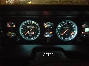 LANCIA ZAGATO, BETA, HPE Dash Light Upgrade To Bright LEDs