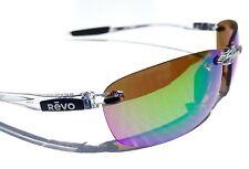 NEW* REVO DESCEND E Clear POLARIZED Shallow Green Water lens Sunglass 4060 09 GN