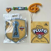 Disney PLUTO 90th Anniversary Special Ed KEY & PIN Set Brand New *FREE SHIPPING*