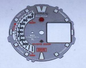 Citizen Promaster Aqualand Eco-Drive Watch Dial for Calibre U107 (L91)