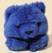 RARE VINTAGE1994 SWIBCO Puffkins the Blue Bear Skylar Plush Stuffed Animal