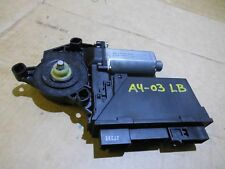 AUDI A4 B6 REAR LEFT DOOR WINDOW MOTOR PASSENGER SIDE NSF 8E0959801A 2001 >