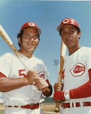 JOHNNY BENCH & TONY PEREZ 8X10 PHOTO CINCINNATI REDS BASEBALL PICTURE MLB