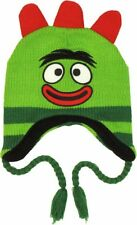 YO GABBA GABBA BROBEE  PERUVIAN WARM WINTER HAT AGES 2-6