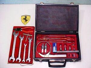 Ferrari 512 Tool Kit_Briefcase_Oil Filter_Spark Plug Tool_Screwdriver_BB_BBi_OEM