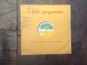 ORIGINAL 1966 BBC Transcription disc TOTP No.61-The Hollies,Cliff Richard etc