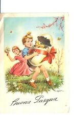 Cartolina Buona Pasqua C. Parisi  1962 (GS80) ^
