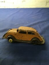 1930's Girard Pressed Steel Chrysler Airflow Sedan Toy Car
