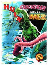 HULK # CAUCHEMAR SOUS LA MER # 1981 ARTIMA COLOR MARVEL GEANT
