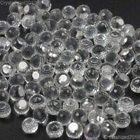 Top Czech Crystal Round Ball 3/4 Flatback Rhinestone Nail Art Jewelry Making
