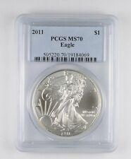 MS70 2011 American Silver Eagle - Graded PCGS *030