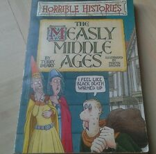 The Measly Middle Ages by Terry Deary (Paperback, 1996)(horrible history's)
